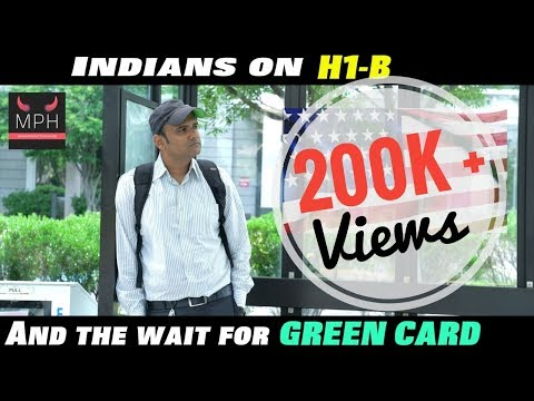 Indians on H1b waiting for Green Card | Funny Video | #H1b #GREENCARD