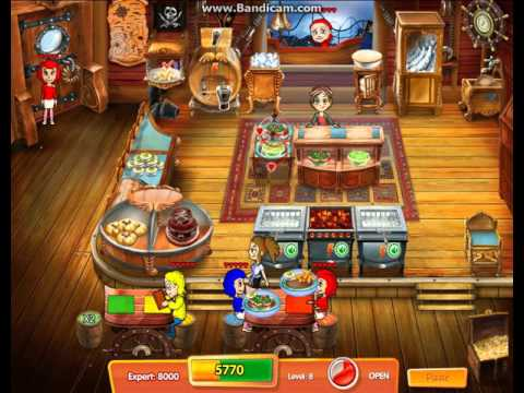 Cooking Dash 3 : Thrills And Spills Level 8