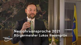 Gemeinde Ehningen | Neujahrsansprache 2021 - Bürgermeister Lukas Rosengrün (01.01.2021)