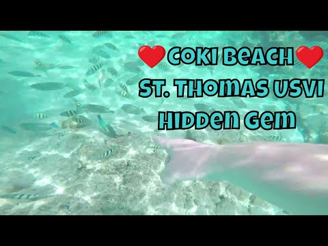 Coki Beach St Thomas US Virgin Islands