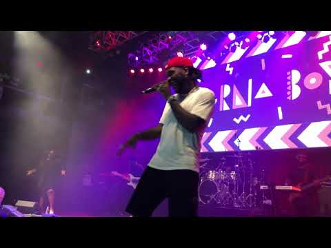 "Burna Boy ""JA ARA E"" live at the Fillmore 9-15-19"