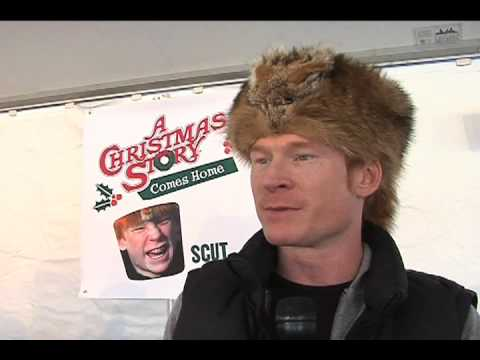 Christmas Story Festival Zack Ward (Scut Farkus) Interview - YouTube