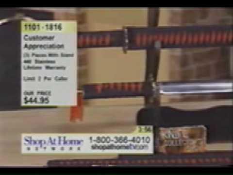 Home Shopping Network - Advertiser stabs himself!