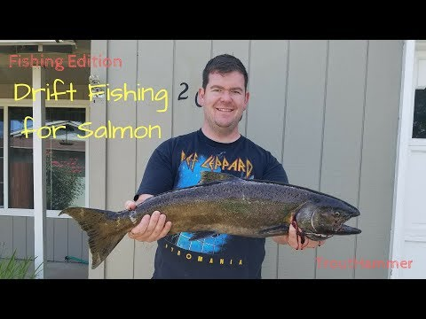 FISHING EDITION | How To Catch Salmon With Drift Floats And Salmon Roe