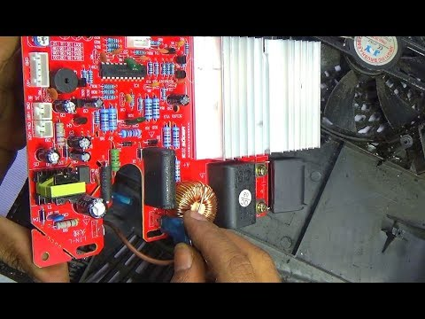how to change complete circuit board of a induction cooker - very useful