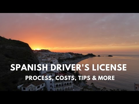 How To Get A Driver's License In Spain - Americans tell all!