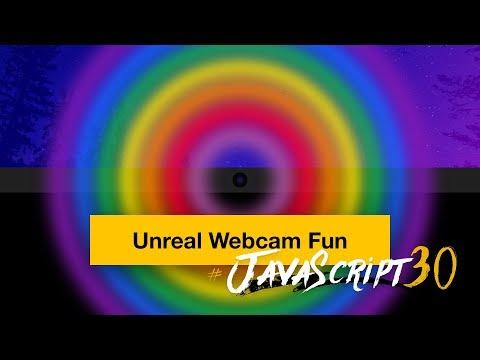 Unreal Webcam Fun With GetUserMedia() And HTML5 Canvas - #JavaScript30 19/30