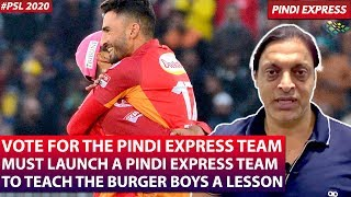Excellent Performance by Samit | You Guys Must Vote for the Pindi Express Team | Shoaib Akhtar
