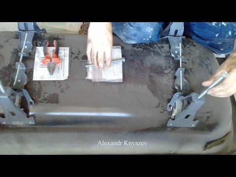 Видео: Как собрать ножки для стальной ванны?