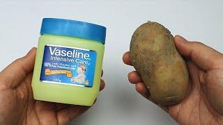 活了30年才知道,凡士林加上土豆,還有這麽神奇的作用,一年省下不少錢!