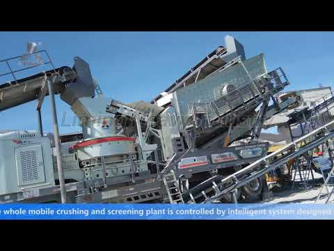 500TPH Mobile Crushing Plant in Russia (LIMING HEAVY INDUSTRY)