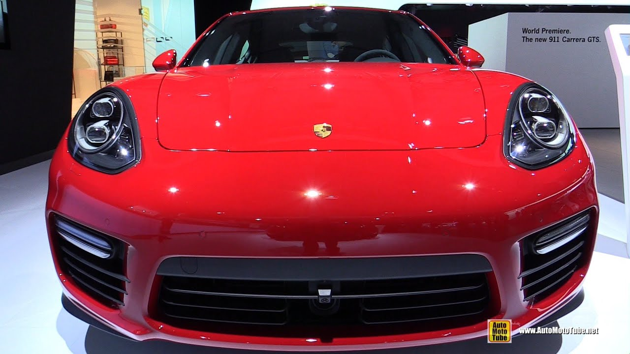 2015 porsche panamera gts exterior and interior walkaround 2014 la auto show youtube