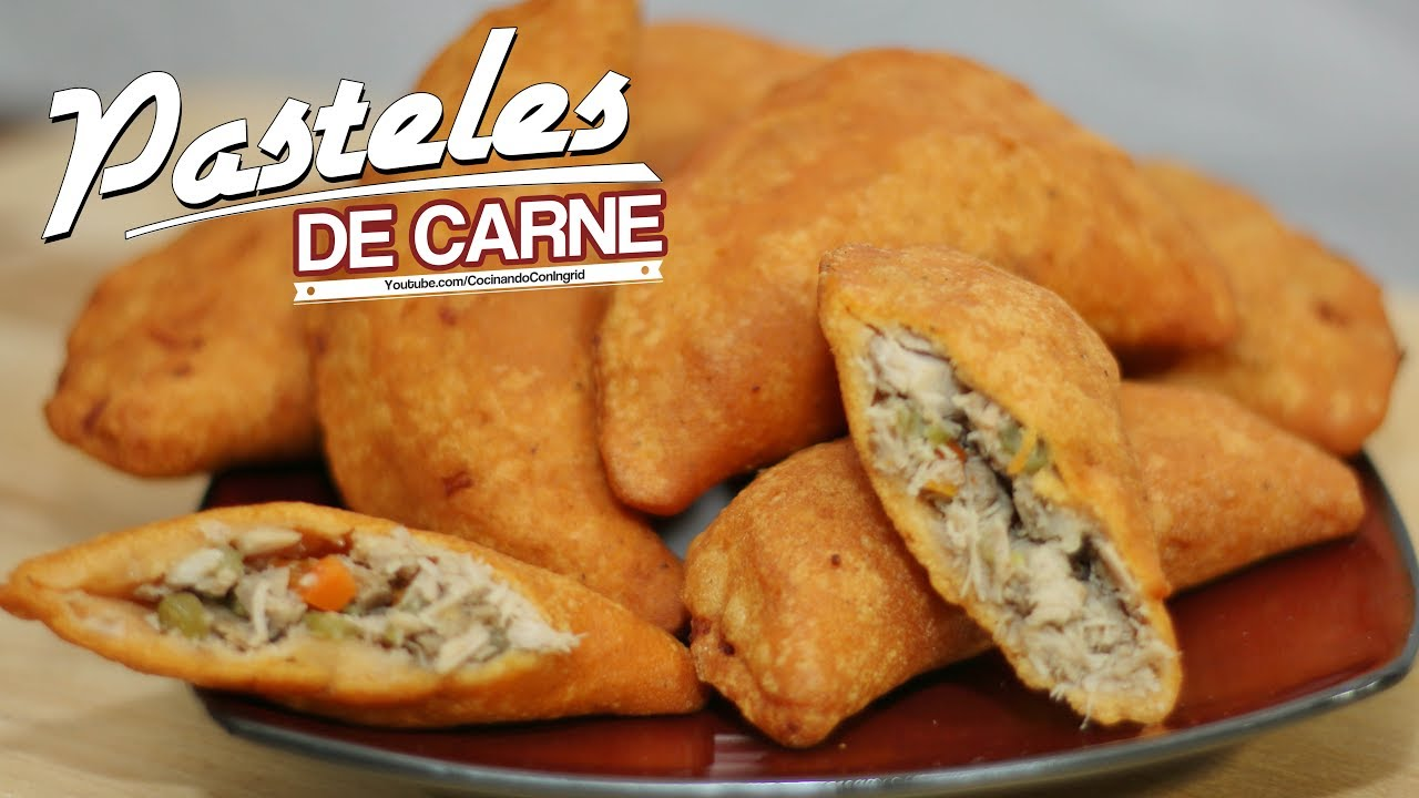pastelitos de carne salvadore209os receta facil youtube