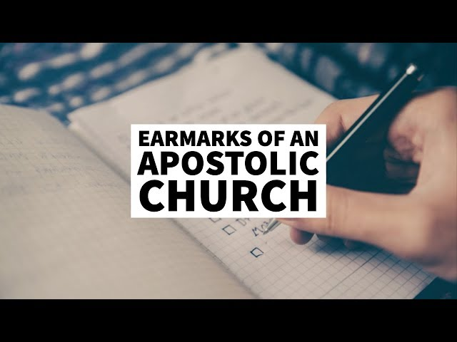 Earmarks of a Marketplace Apostle | School of the Apostles