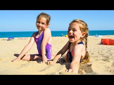 Beach vacations | Beach games for kids | Fun beach time