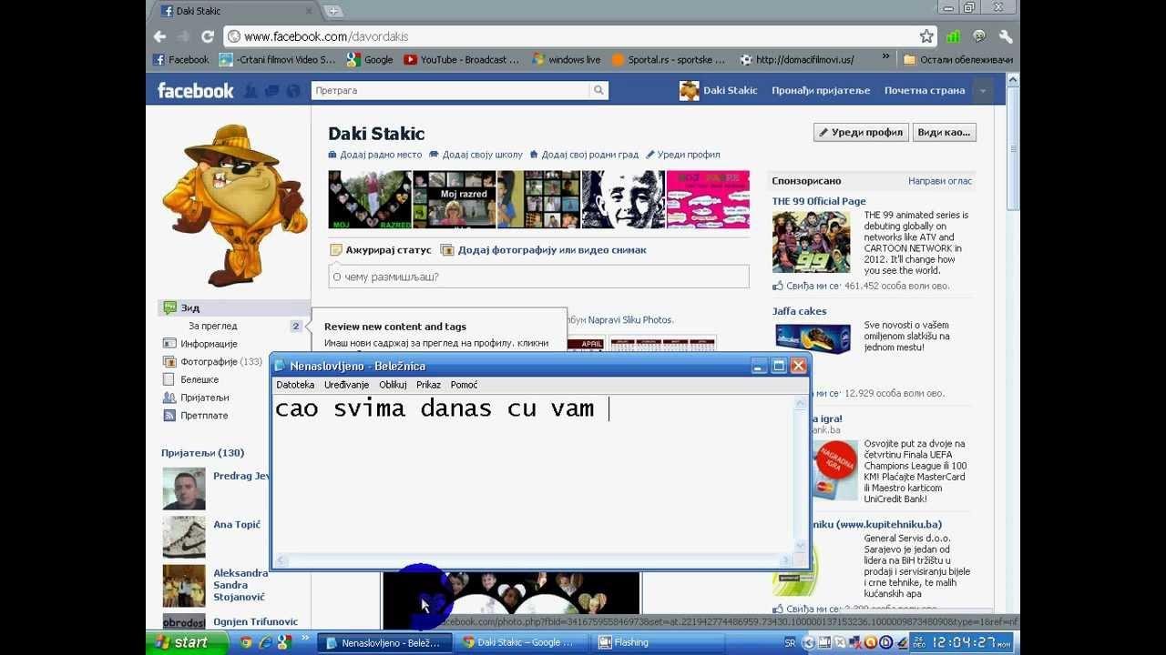 Kako napraviti grupu na facebook-u :) - YouTube