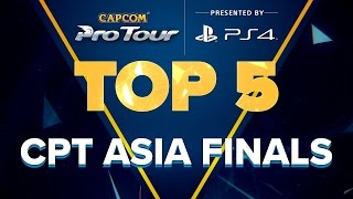 sfv top 5 moments cpt asia finals cpt 2016