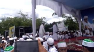 Ketika habib datang ke halaman masjid.. Haul sultan siak