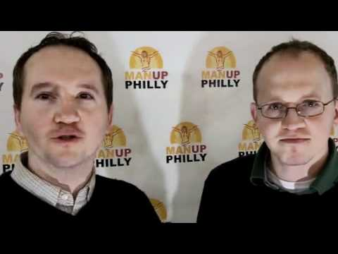 Man Up Philly: Man On the Street, Paul and John Doman