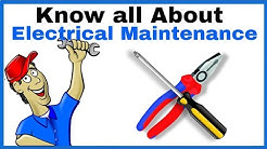 Know all About Electrical Maintenance in Hindi, Preventive Maintenance and Breakdown Maintenance