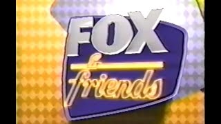 Fox & Friends 9-11-01 - Fox News Channel Live as Tragedy Occurred