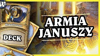 ARMIA JANUSZY - ODD PALADIN - Hearthstone Deck Wild (The Boomsday Project)