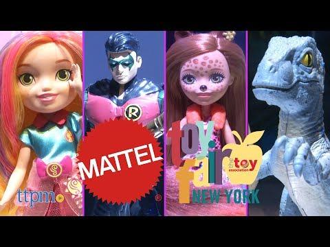 Toy Fair 2018: Mattel