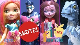 Toy Fair 2018: Mattel's Barbie, Hot Wheels, Fisher-Price, Jurassic World and more