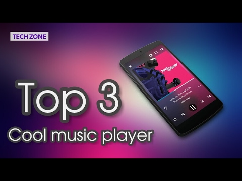 Top 3 cool music player 2017 | TechZone | MIUI Music player | Beatbox | Equalizer+ |