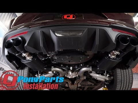 "2018 Mustang GT Has More Attitude After A MagnaFlow Competition 3"" Axle-Back w/4"" Quad Tips Install"