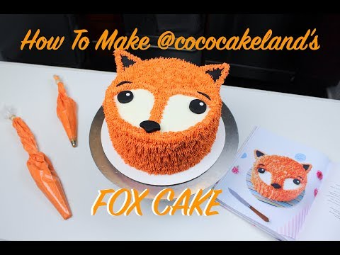 Celebrating @cococakeland's Book Release With Her Fox Cake | CHELSWEETS