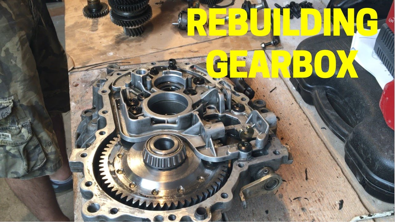 R65ma Gearbox Rebuild And Some Info On Custom Parts On The Car