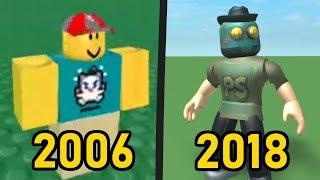 La historia de la personalización de avatares en Roblox