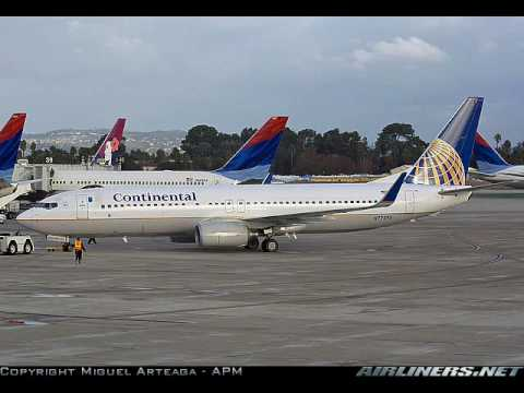 Tribute to Continental Airlines