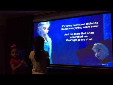 Chloe and Sophie - Frozen Karaoke