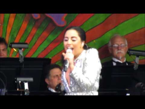 "Lady Gaga - ""Bewitched, Bothered and Bewildered"" - New Orleans Jazz Fest, 4-26-2015"