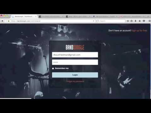 How to build a website for music/beats - Bandzoogle is so awesome [Tips&tricks]