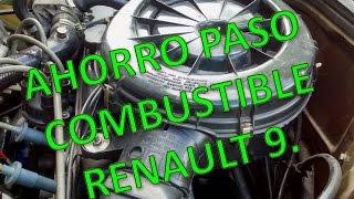 Ahorro Combustible calibración Renault 9/11.