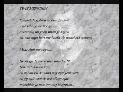 Adriaan Roland Holst Gedicht Twee Menschen