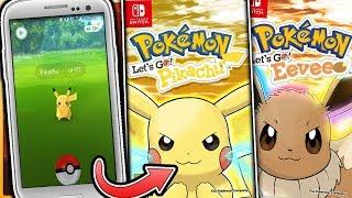 Pokemon Let's Go Pikachu & Let's Go Eevee - How Will Pokemon GO Work In The Pokemon Switch Games?