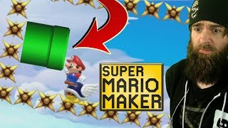 This Seems Like a Bad Joke // SUPER EXPERT NO SKIP [#60] [SUPER MARIO MAKER]