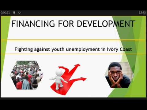 MOOC F4D 2017 : Blended Finance For Youth Employment in Ivory Coast.Digital Artefact Maixent