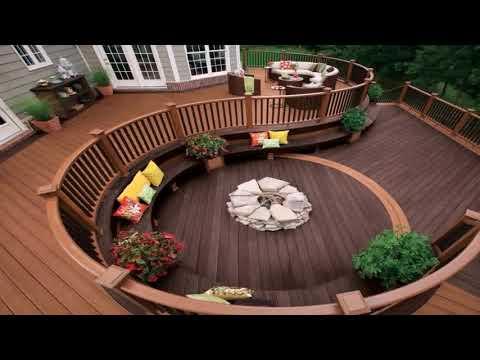 Wood Deck Railing Diy