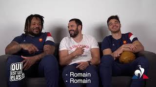 - QUI EST LE PLUS ? - Mathieu Bastareaud, Geoffrey Doumayrou, Romain Ntamack