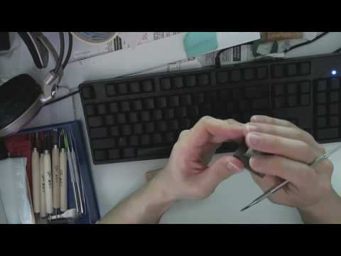 Artisan Keycap Sculpting (including Timelapse) - Movember 2017