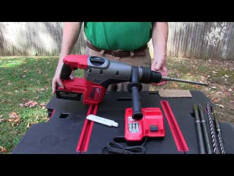 Milwaukee M18 Fuel SDS Max Rotary Hammer, Model 2717-20