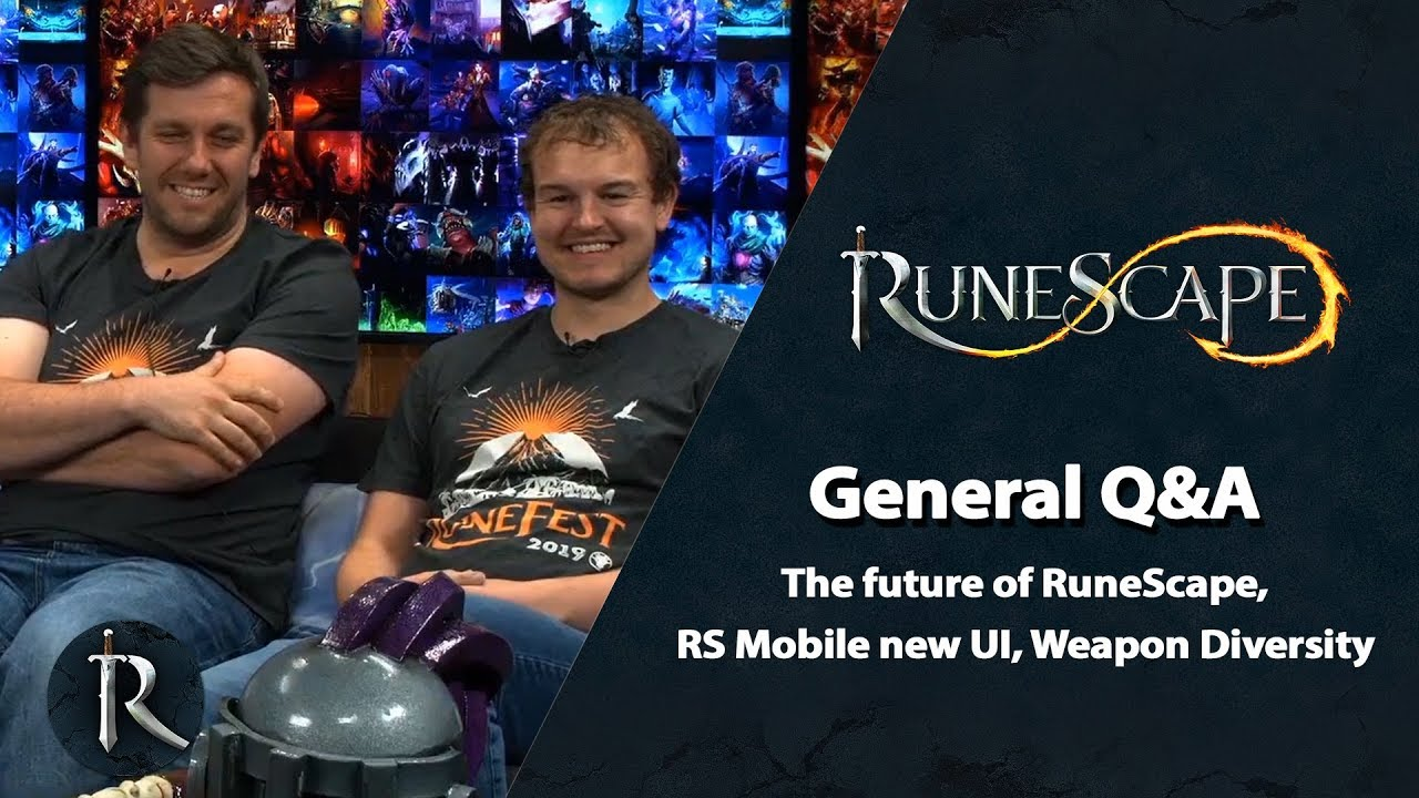 Runescape Christmas 2019.The Future Of Runescape Rs Mobile New Ui Weapon Diversity Rs General Q A Sept 2019