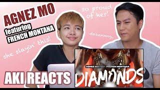 Aki Reacts || Agnez Mo - Diamonds ft. French Montana