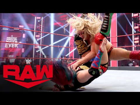 Asuka vs. Charlotte Flair – Champion vs. Champion Match: Raw, June 1, 2020