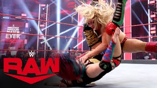 Asuka vs. Charlotte Flair - Champion vs. Champion Match: Raw, June 1, 2020